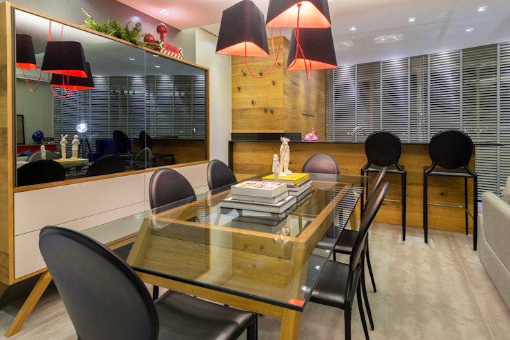 GREISSE PANAZZOLO ARQUITETURA Modern dining room
