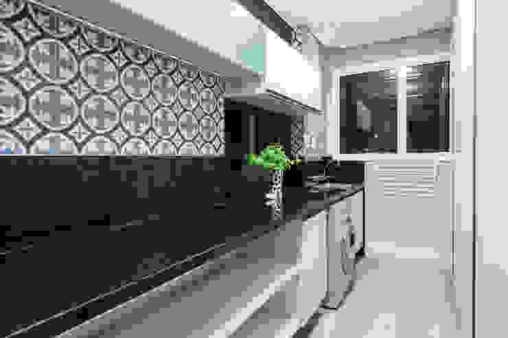 モダンな キッチン の GREISSE PANAZZOLO ARQUITETURA モダン