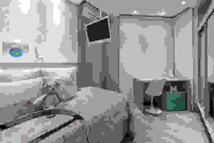 モダンデザインの 子供部屋 の GREISSE PANAZZOLO ARQUITETURA モダン