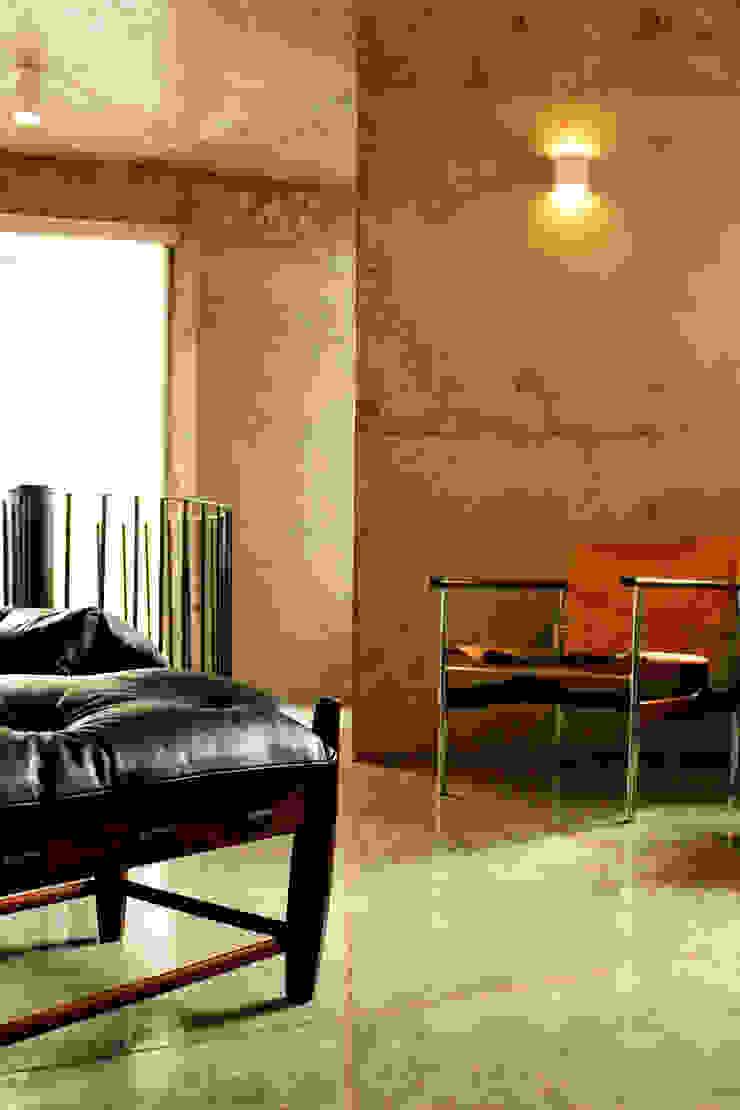 Apartamento na Chácara Klabin Salas de estar modernas por Mínima arquitetura e urbanismo Moderno