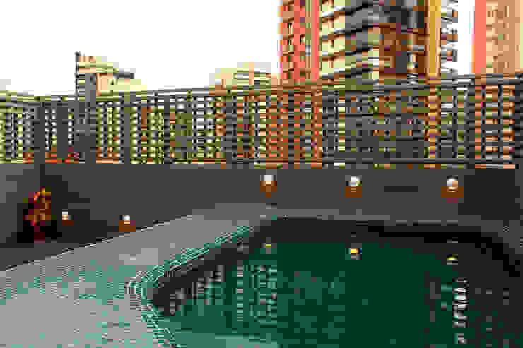 Apartamento na Chácara Klabin Piscinas modernas por Mínima arquitetura e urbanismo Moderno