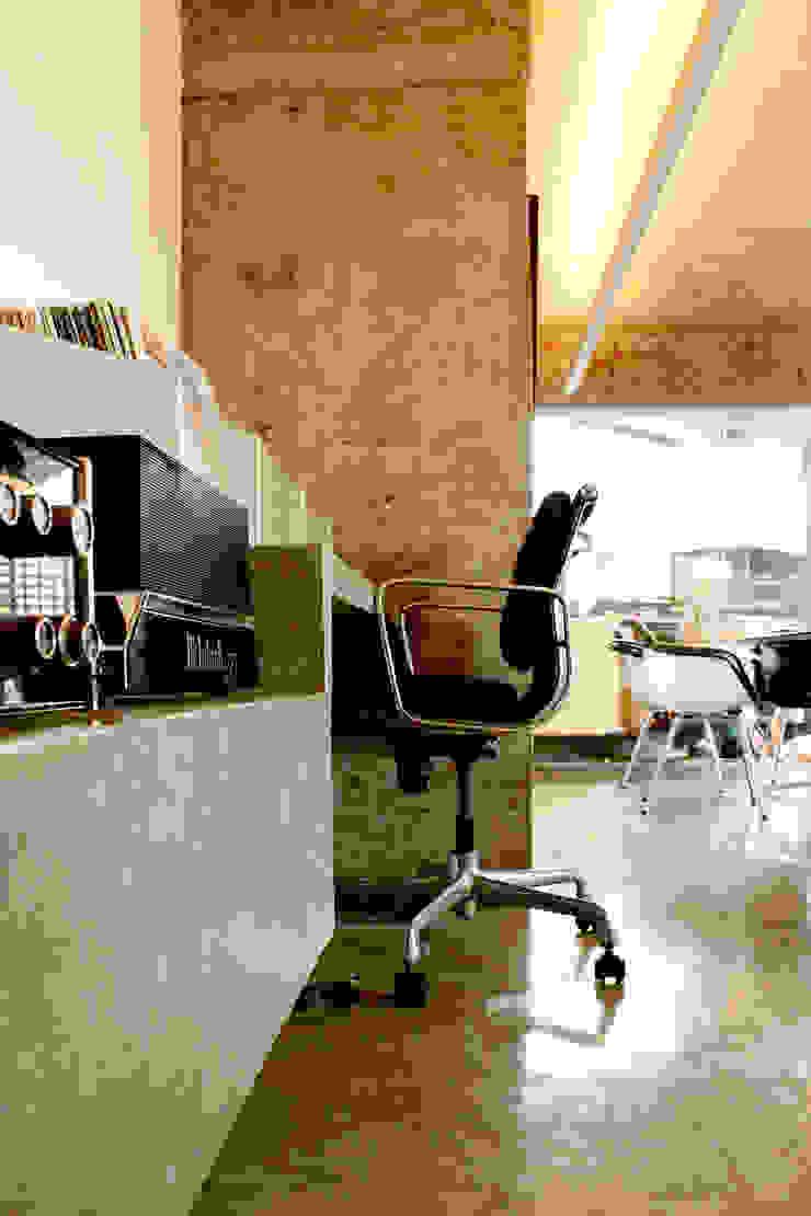 Apartamento na Chácara Klabin Escritórios modernos por Mínima arquitetura e urbanismo Moderno