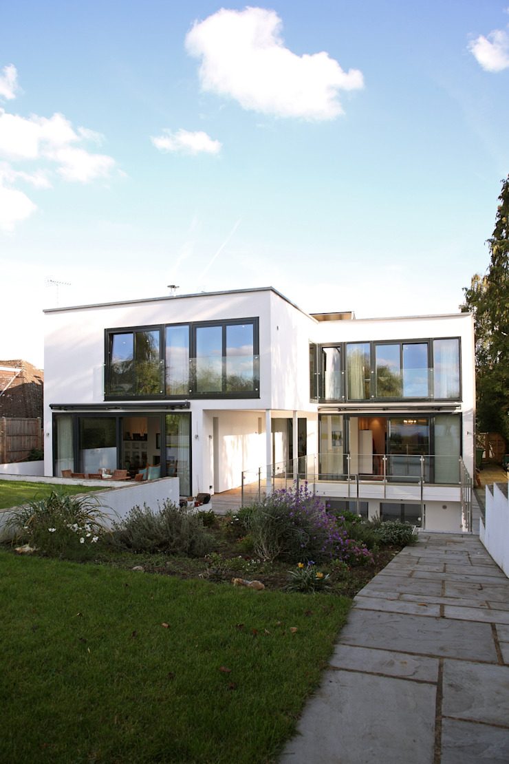 Radlett house Modern houses by Nicolas Tye Architects Modern