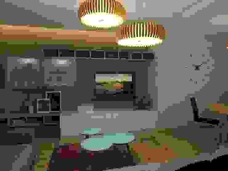 Дизайн квартиры 2 Гостиная в стиле модерн от Efimova Ekaterina Модерн