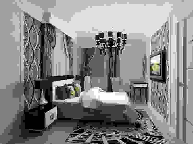 Спальня в арт-деко Спальня в эклектичном стиле от Efimova Ekaterina Эклектичный