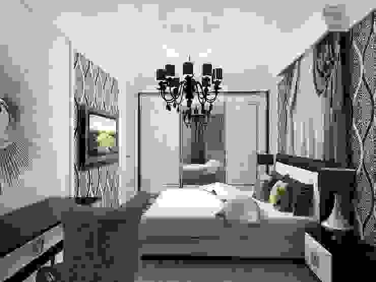 Дизайн квартиры 2 Спальня в эклектичном стиле от Efimova Ekaterina Эклектичный
