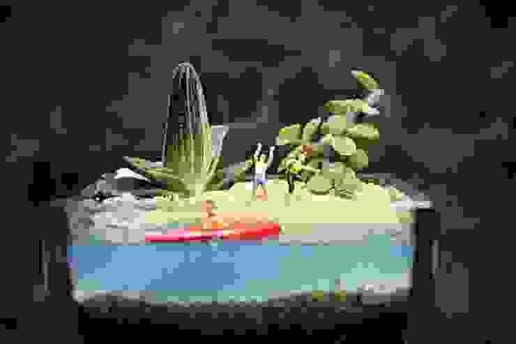 MyHobbyMarket & Peri Bahçem – Spor Yapalım Minyatür Bahçe: minimalist tarz , Minimalist