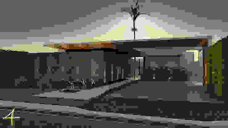 Residência VB+ Casas modernas por Quattro+ Arquitetura Moderno