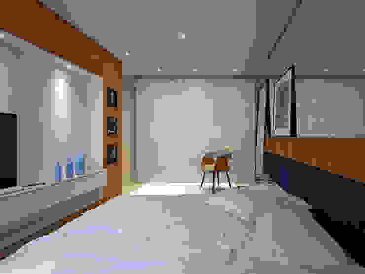 Residência FC+ Quartos modernos por Quattro+ Arquitetura Moderno