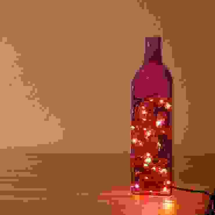 LAMPBADA DESIGN LAMP – Viobottlelamp, Tasarım, Cam Gece Masa Lambası: modern tarz , Modern