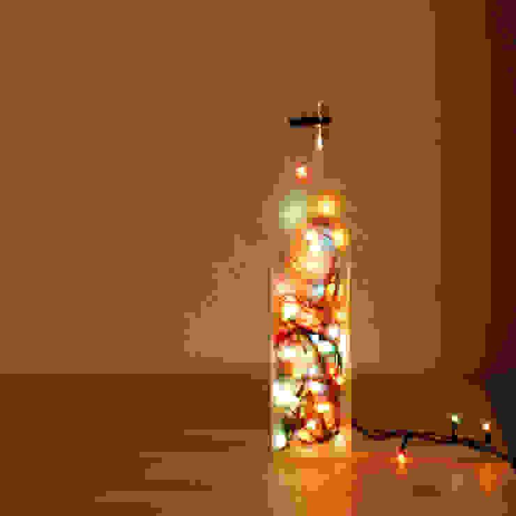 LAMPBADA DESIGN LAMP – Cloudglasslamp Tasarım, Cam Gece Masa Lambası: modern tarz , Modern
