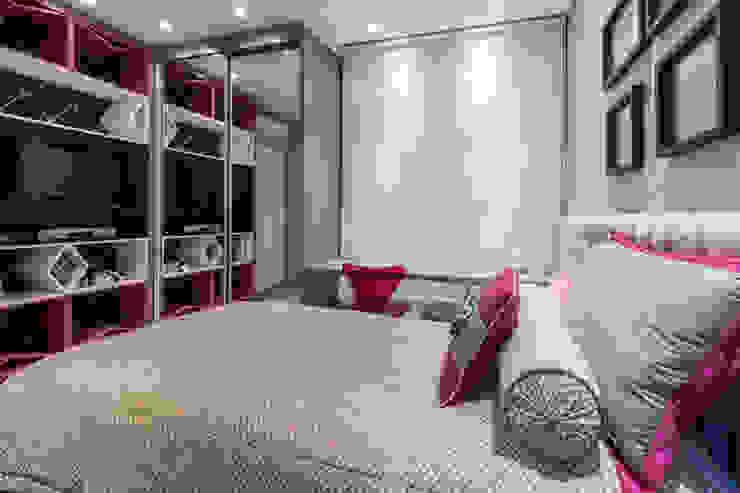 Dormitorios infantiles modernos: de GREISSE PANAZZOLO ARQUITETURA Moderno