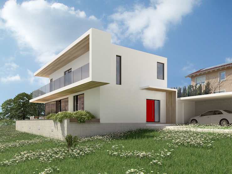 HAUS SLT AL ARCHITEKT - in Wien Moderne Häuser