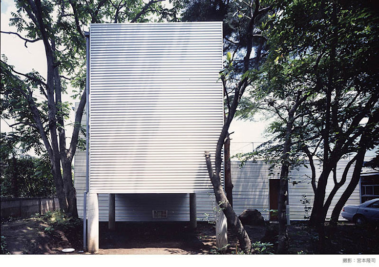 industry in a forest ミニマルな 家 の 瀧浩明建築計画事務所/studio blank ミニマル