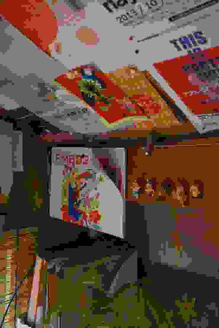 屋根裏のアトリエ オリジナルデザインの 書斎 の ムラカミマサヒコ一級建築士事務所 オリジナル
