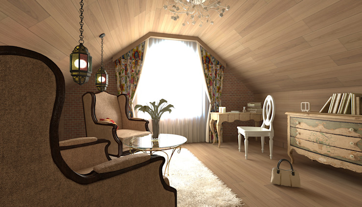 Country style bedroom by Makhrova Svetlana Country