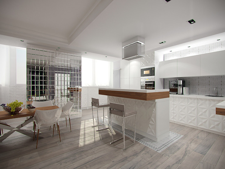 Modern kitchen by Makhrova Svetlana Modern