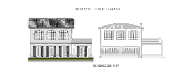 Villa Pumila, un esempio di neoclassico nel Monferrato. Case classiche di P.S.Studio - progettazione sostenibile Classico