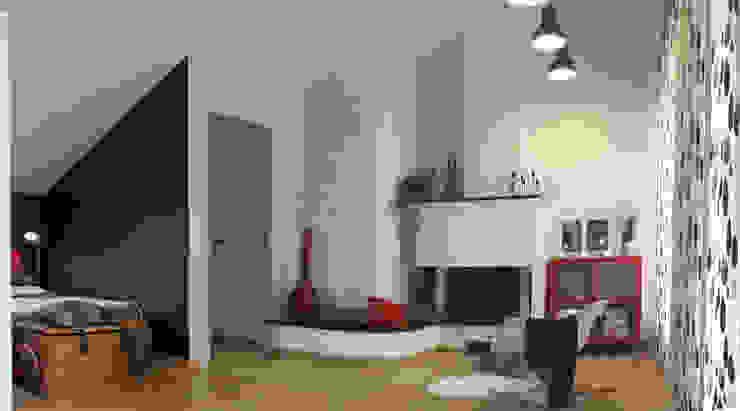 Il monolocale di FOSCA de LUCA Home Stager & Redesigner