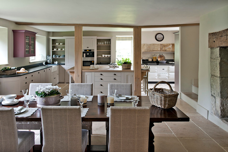 Ansty Manor, Kitchen Country style kitchen by BLA Architects Country