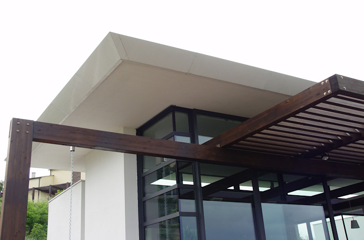 Dettaglio Case moderne di Studio 4 Moderno