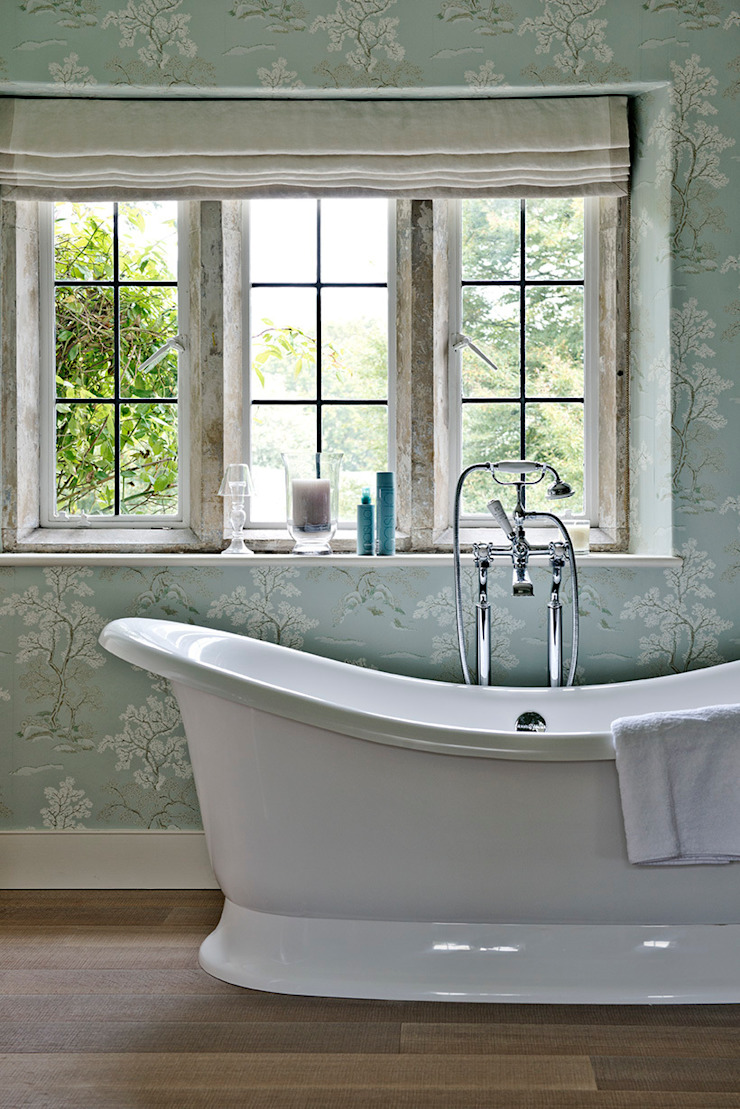 Ansty Manor, Bathroom Country style bathroom by BLA Architects Country