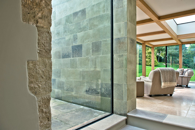 Ansty Manor, Garden Room Country style garden by BLA Architects Country