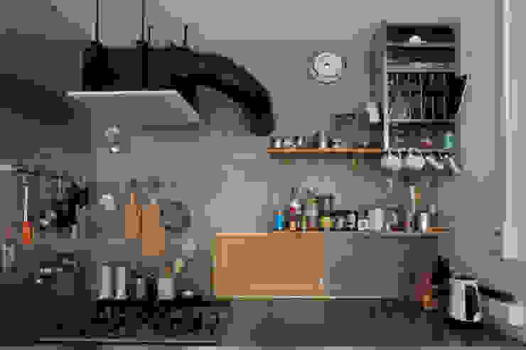 passage ラスティックデザインの キッチン の 一級建築士事務所ageha. ラスティック