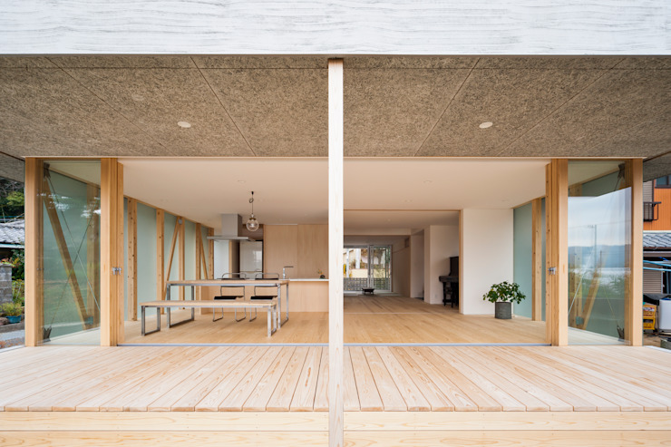 sky and light house の 森下新宮建築設計事務所/MRSN ARCHITECTS OFFICE