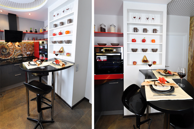 Кухня в форме ракушки от Сделано со вкусом на ТНТ Средиземноморский