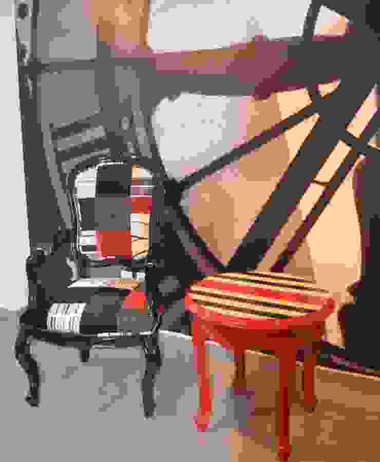 Proyecto Vestíbulo de Oficina en Polanco de Sandra Molina Ecléctico