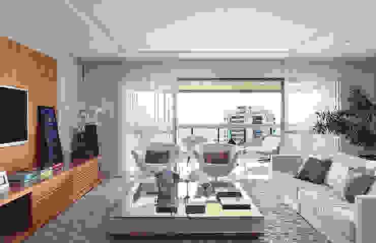 Apartamento Cond. Golden Green Salas de estar modernas por Cadore Arquitetura Moderno
