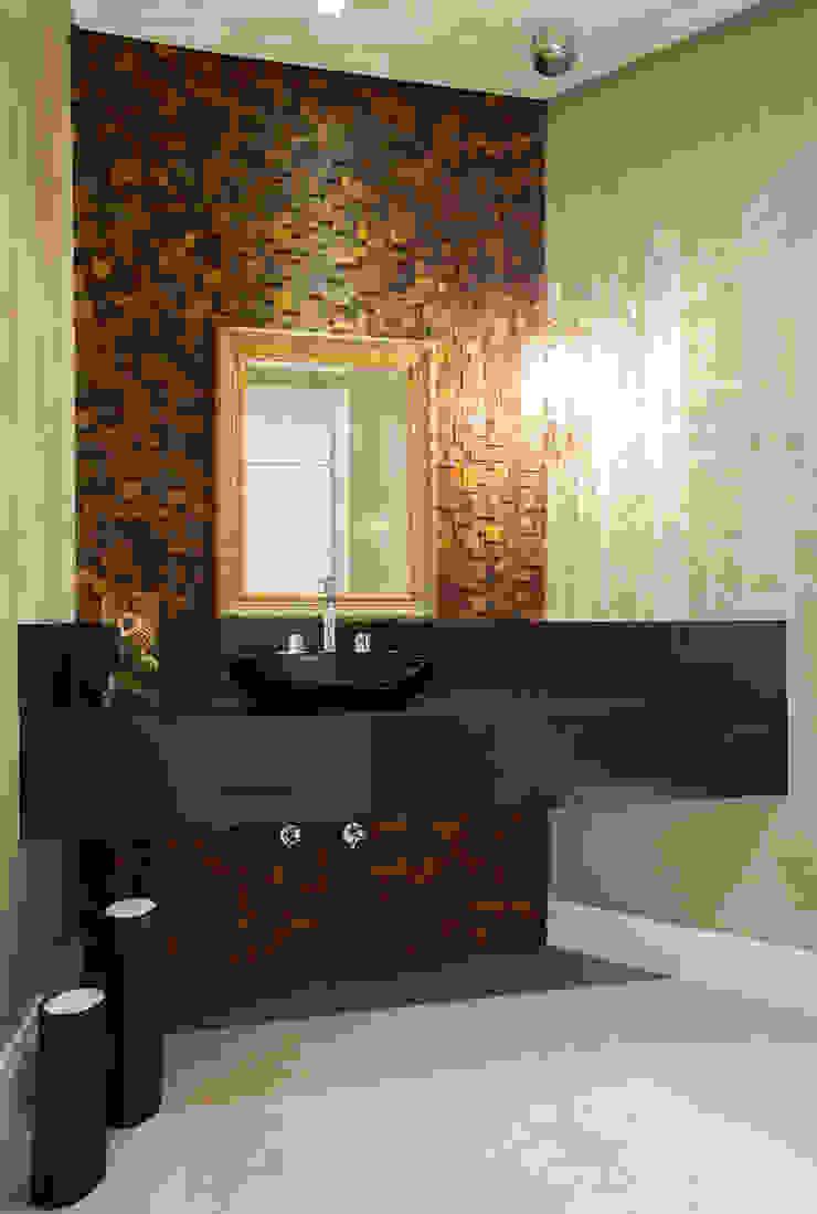 Lavabo Ousado Banheiros modernos por Luine Ardigó Arquitetura Moderno