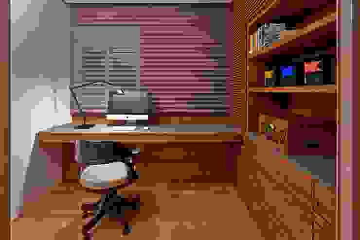 Study/office by Alessandra Contigli Arquitetura e Interiores, Modern