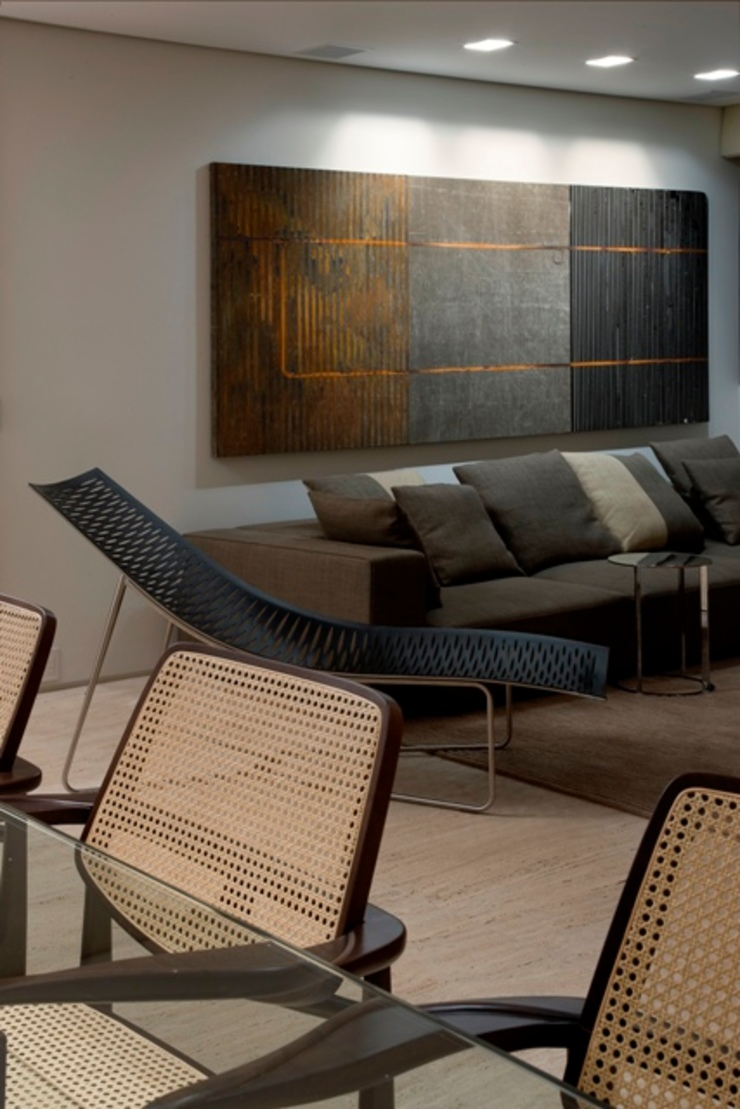 Residência T&L por Alessandra Contigli Arquitetura e Interiores Moderno