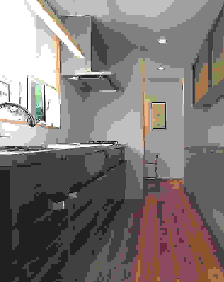 Cucina moderna di ㈱ライフ建築設計事務所 Moderno