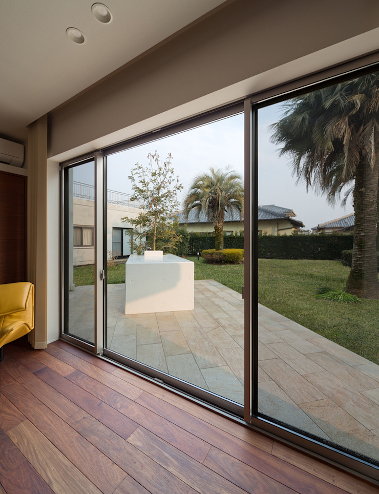 K9-house 「木と光の家」 モダンな庭 の Architect Show Co.,Ltd モダン