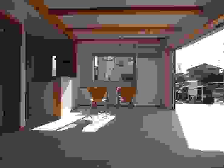 南鎌ヶ谷の家 モダンデザインの ダイニング の 麻生英之建築設計事務所 モダン