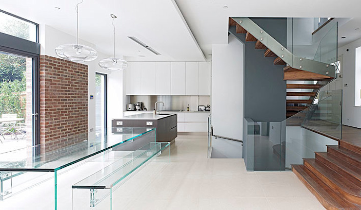 ​Sheen Lane, Kitchen BLA Architects Cozinhas modernas