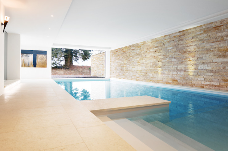 Pool by Förstl Naturstein, Modern