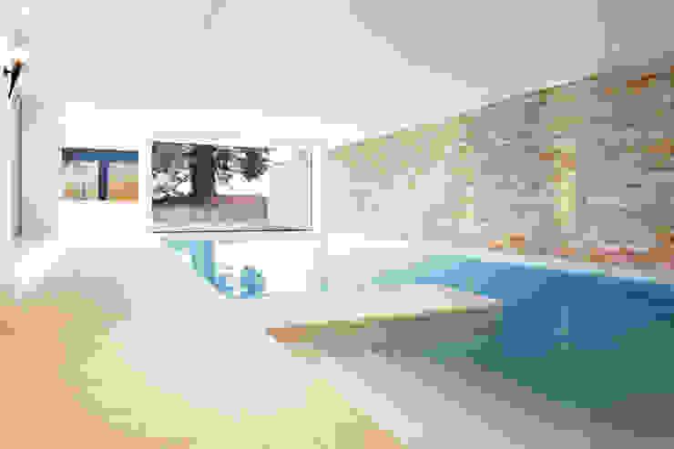 Modern pool by Förstl Naturstein Modern