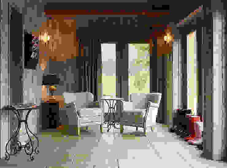 Fletcher's Cottage Sun Lounge Rustieke spa's van Aitken Turnbull Architects Rustiek & Brocante