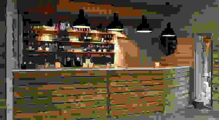 Fletcher's Cottage Bar Rustieke spa's van Aitken Turnbull Architects Rustiek & Brocante