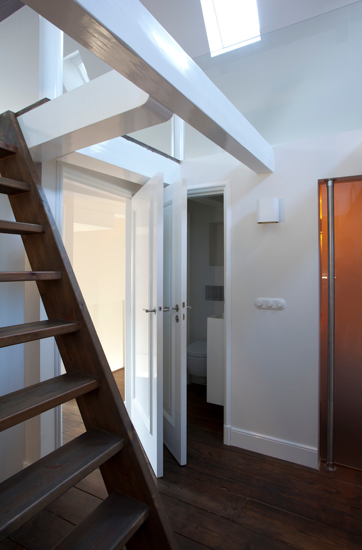 Modern Corridor, Hallway and Staircase by Proest Interior Modern