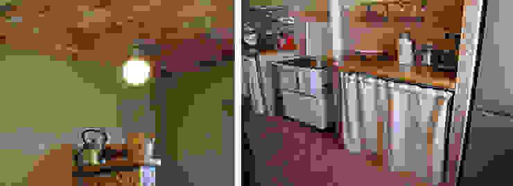 Un cascina naturale Cucina rurale di P.S.Studio - progettazione sostenibile Rurale
