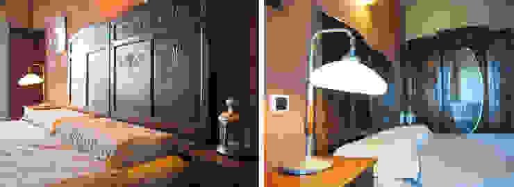 Un cascina naturale Camera da letto rurale di P.S.Studio - progettazione sostenibile Rurale