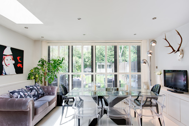 Queens Park House Modern Mutfak Honeybee Interiors Modern