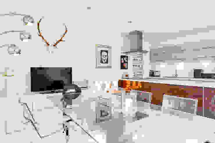 Queens Park House Honeybee Interiors Cocinas de estilo moderno