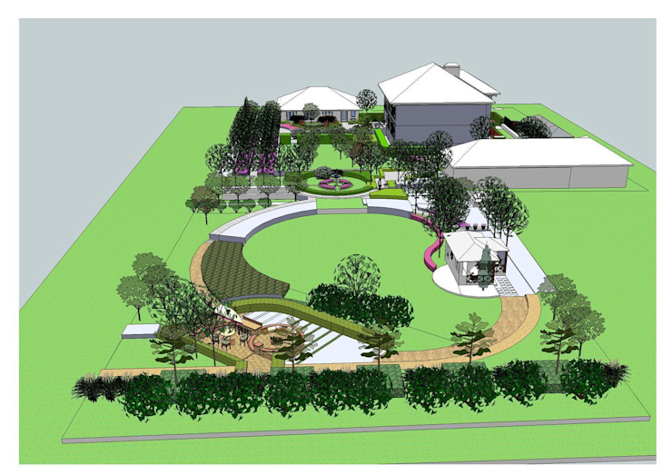 Эскиз от BersoDesign ❖ Landscape architecture. Design.