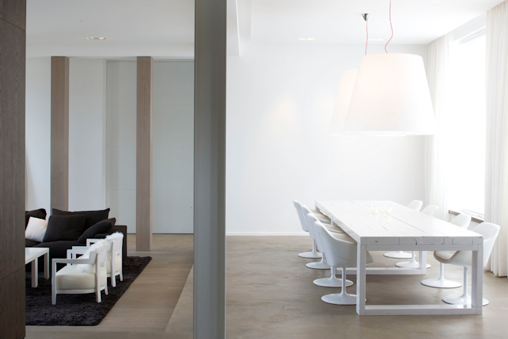 Dining room by GUILLAUME DA SILVA ARCHITECTURE INTERIEURE, Minimalist